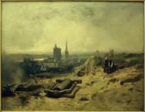 Ch.Hoguet, Landschaft mit Hüttenwerk (Motiv aus Frankreich) by AKG  Images