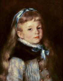 A. Renoir, Mademoisellle Grimprel mit blauem Haarband