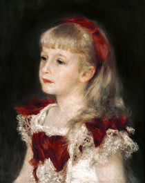 A. Renoir, Mademoisellle Grimprel mit rotem Haarband
