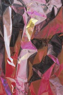 Close-up of aluminum foil abstract von Danita Delimont