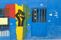 Africa shop front, Praia, Santiago, Cape Verde by Danita Delimont