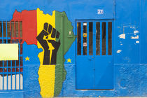 Africa shop front, Praia, Santiago, Cape Verde von Danita Delimont