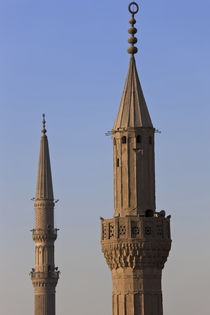 Towers of mosque, Cairo, Egypt by Danita Delimont