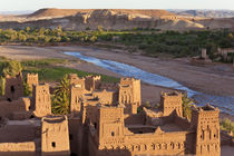 Morocco, High Atlas Mountains, Ait Ben Haddou Ksar classified as by Danita Delimont