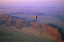 Hot air balloon over Namib Desert, Namibia by Danita Delimont
