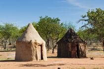 Himba village, Kaokoveld, Namibia. by Danita Delimont