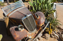 Abandoned car in Solitaire Village, Khomas Region, near the ... by Danita Delimont