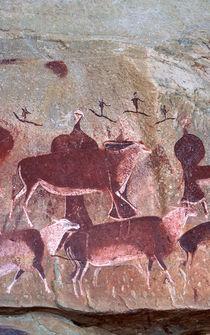 San, Bushman rock art, uKhahlamba / Drakensberg Park, KwaZul... von Danita Delimont