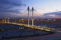 Nelson Mandela Bridge, Johannesburg, Gauteng, South Africa. von Danita Delimont