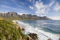 View of Mountains with clouds and Fynbos surrounding Kogel B... von Danita Delimont