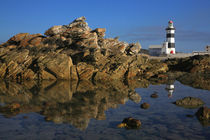 Lighthouse on Cape Recife, Port Elizabeth, Eastern Cape, South Africa. by Danita Delimont
