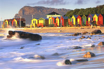 St. James with Victorian Beach Huts, South Africa von Danita Delimont