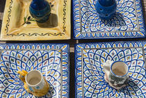 Pottery for sale, Tabarka, Tunisia, North Africa von Danita Delimont