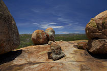 Boulders atop Malindidzimu, or 'World's View', Matobo Nation... by Danita Delimont
