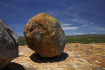 Boulders atop Malindidzimu, or 'World's View', Matobo Nation... von Danita Delimont