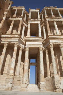 Façade of roman ampitheatre, Sabratha, Az Zawiyah District, Libya by Danita Delimont