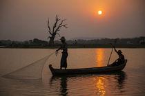 Myanmar, Mandalay, Amarapura by Danita Delimont