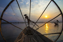 Myanmar, Inle Lake von Danita Delimont