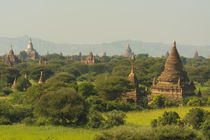 Bagan. The plain of Bagan is dotted with hundreds of temples. von Danita Delimont