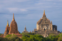 Ancient temples and pagodas, Bagan, Mandalay Region, Myanmar by Danita Delimont