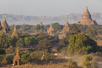 View of the pagodas and temples of the ancient ruined city of Ba von Danita Delimont