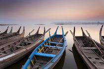Sunrise, Amarapura, Mandalay, Burma, Myanmar by Danita Delimont