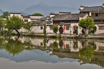 Hongcun Village, China, UNESCO World Heritage Site von Danita Delimont
