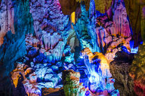 Reed Flute Cave Guilin, China. by Danita Delimont