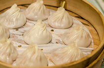 Xiao long bao in Chenghuang Miao, Shanghai, China. by Danita Delimont