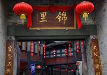 Famous Old Jinli Street Chengdu Sichuan China by Danita Delimont