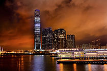International Commerce Center ICC Building Kowloon Hong Kong Harbor von Danita Delimont