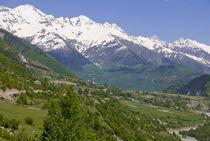 Wonderful mountain scenery of Svanetia, Georgia by Danita Delimont