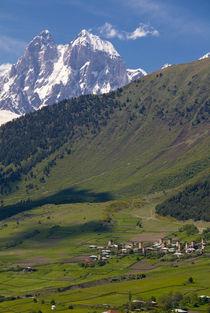 Wonderful mountain scenery of Svanetia, Georgia von Danita Delimont
