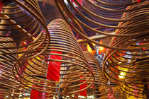 Spiral Incense sticks at Man Mo Temple or Man Mo Miu is a Ca... von Danita Delimont
