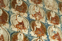 India, Ladakh, Alchi, Buddhist wall paintings von Danita Delimont