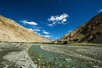 India, Ladakh, Markha Valley, scenic landscape of the Himala... by Danita Delimont