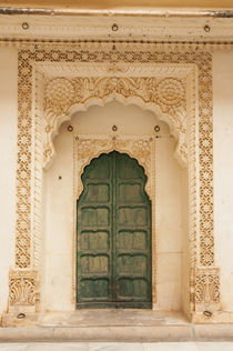 Arched doorway, Mehrangarh Fort, Jodhpur, Rajasthan, India. by Danita Delimont