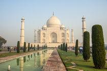 Taj Mahal, Agra, Uttar Pradesh, India. by Danita Delimont