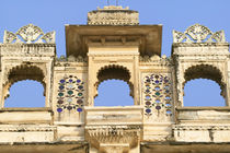 City Palace, Udaipur, Rajasthan, India by Danita Delimont