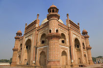 Humayun's Tomb and Charbagh, surrounding gardens, Delhi, India by Danita Delimont