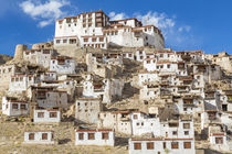 Chemre or Chemrey Village & monastery, nr Leh, Ladakh, India by Danita Delimont