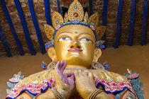 Buddha statue, Leh, Ladakh, India von Danita Delimont