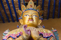Buddha statue, Leh, Ladakh, India by Danita Delimont