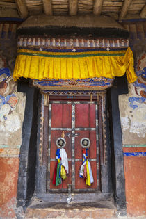 Doorway, Matho Monastery, nr Leh, Indus Valley, Ladakh, India von Danita Delimont