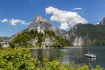 Church; Traunkirchen; Traunsee lake; Upper Austria; Austria von Danita Delimont