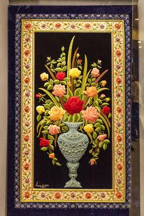 Flower embroidery von Danita Delimont