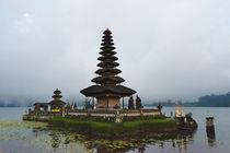 Pura Ulun Danu Bratan water temple, Bali island, Indonesia by Danita Delimont
