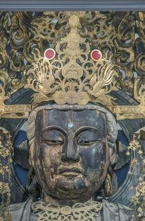 Japan, Kanagawa, Kamakura, Enkakuji Temple Buddha. by Danita Delimont
