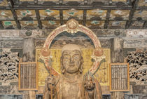 Japan, Kanagawa, Kamakura, Kenchoji Temple Buddha. von Danita Delimont