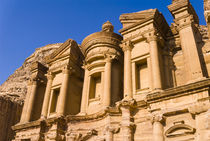 The Monastery or El Deir, Petra, UNESCO Heritage Site, Jordan. by Danita Delimont